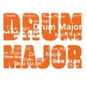 Drum Major - Orange
