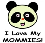 I Love My Mommies (Panda) Baby Wear & Gifts