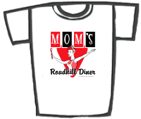 Mom's Roadkill Diner Retro Redneck T-Shirts & Gift