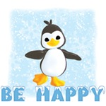 Be Happy Penguin