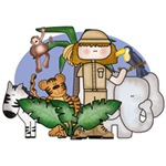 Jungle Safari Girl