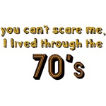 you can't scare me...70's