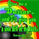 St Patrick's Day Dollar
