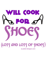 Will Cook For Shoes Graphic Merhcandise