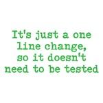 One Line Change