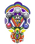Kabbalah Rainbow Star of David
