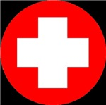 Red Cross - ALL COLOURS! ALL DESIGNS!