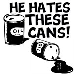 HE HATES THESE CANS!