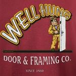 Well Hung Door Framing T-Shirt