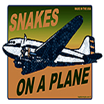 Snakes on a Plane Retro T-Shirt