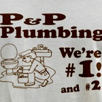 P P Plumbing Shirt