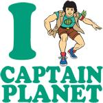 I Heart Captain Planet Shirt
