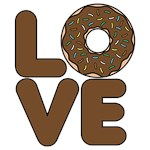 Donut Love Chocolate