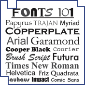 Fonts 101