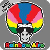 Rainbow Afro