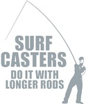 Surfcasters Longer Rods