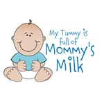 Tummy Full of Mommy's Milk