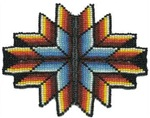 Beaded Tribal Starburst