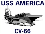 USS AMERICA CV-66