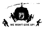 POW MIA - WE WON'T GIVE UP
