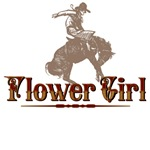 Flower Girl Western T-Shirts