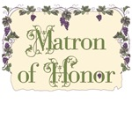 Matron of Honor Vineyard T-Shirts