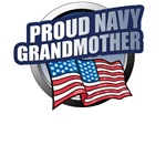 Navy Grandmother T-Shirts