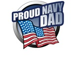 Navy Dad T-Shirts