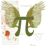 <p>Winged Pi T-Shirts and Gifts Being a math geek doesn't mean giving up your sense of style. Winged Pi is a contemporary take on pi that features math AND an artistic flair. Perfect for math geeks who don't have their glasses taped together.