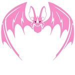Fancy Pink Bat T-Shirts
