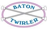 Neon Baton Twirler