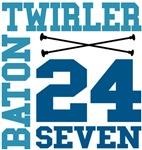 Baton Twirler 24/7