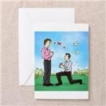 Gay Wedding Proposal - Congratulations
