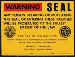 Coroners Seal