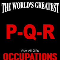 The World's Greatest Occupations P-Q-R