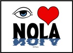 Eye Love NOLA (blue)