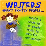 Writers Aren't People