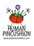 Human pincushion