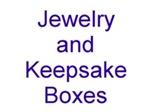 Karate Jewelry and Keepsake Boxes