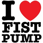 I Heart Fist Pump