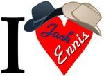 I [heart Jack+Ennis] + hats