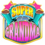 Super Grandma - Pink Superhero