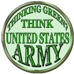THINK GREEN US ARMY