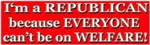 Republican not Welfare 2