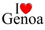 I Love (Heart) Genoa, Italy
