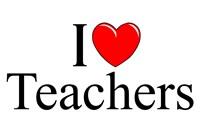 I Love (Heart) Teachers