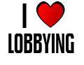 I LOVE LOBBYING
