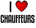 I LOVE CHAUFFEURS