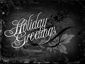 Gothic Holiday Greetings