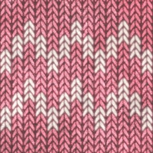 Pink Knit Graphic